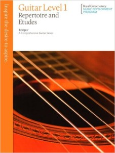 Bridges Graded Guitar Books (Royal Conservatory of Music)