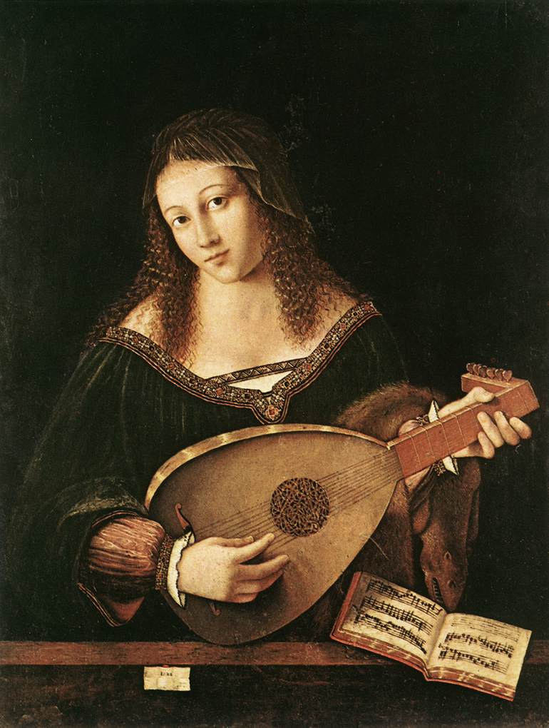 Bartolomeo Veneto: Lady Playing Lute | this is classical ...