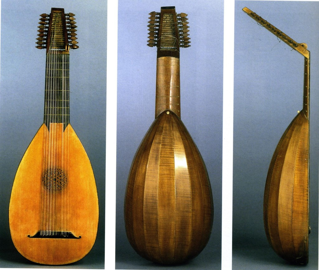 10-course lute by Herman Hauser Lute 1920