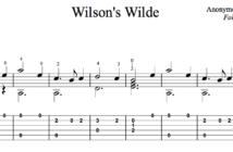 Wilsons Wilde TAB Preview