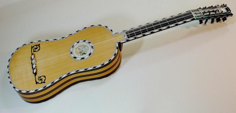 Guitar after Voboam 1690's by Clive Titmuss