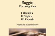 Victor Amaral: Saggio Score