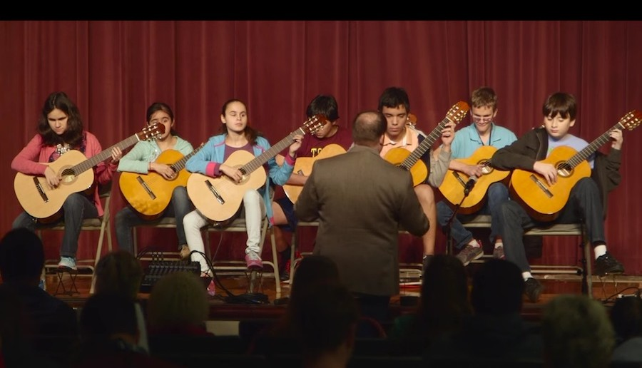 Texas School for the Blind and Visually Impaired Guitar Program
