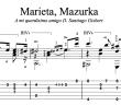 Marieta, Mazurka by Francisco Tárrega (TAB)