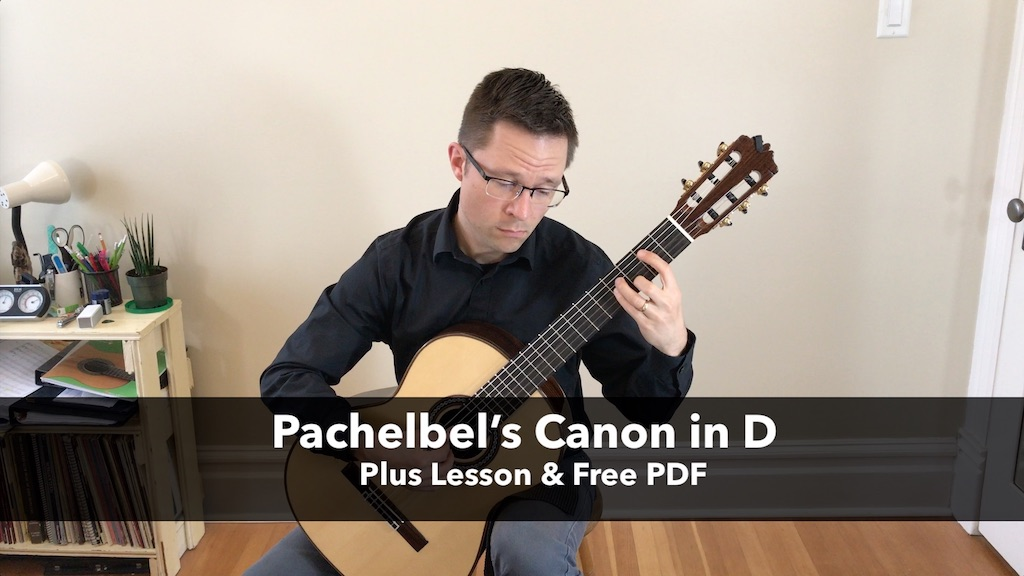 Pachelbels Canon In D For Guitar Free Pdf Sheet Music Or
