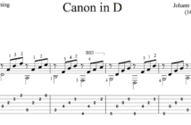 Pachelbels Canon in D for Guitar