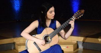 Andrea Gonzalez Caballero Plays Ségoviana by Milhaud