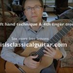 left hand technique and pinky lesson