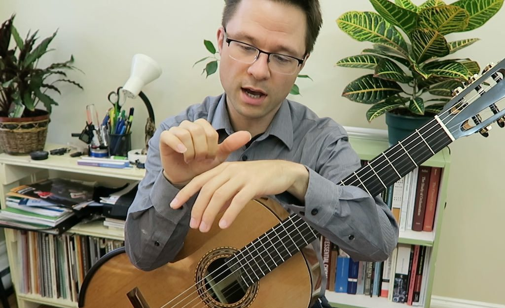 Tremolo Lesson and Exercise for Classical Guitar | This is