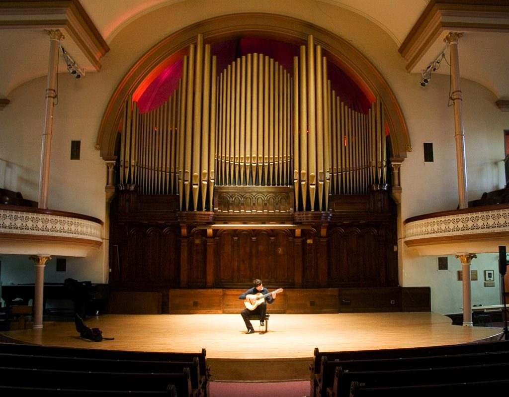 Post-Secondary Classical Guitar Programs at Colleges, Universities, Schools, and Conservatories.