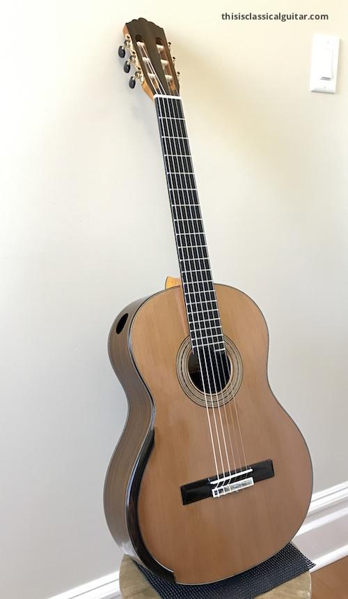 Review De Cascia Sylvia Model Classical Guitar This Is