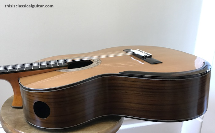 Review De Cascia Sylvia Model Classical Guitar This Is
