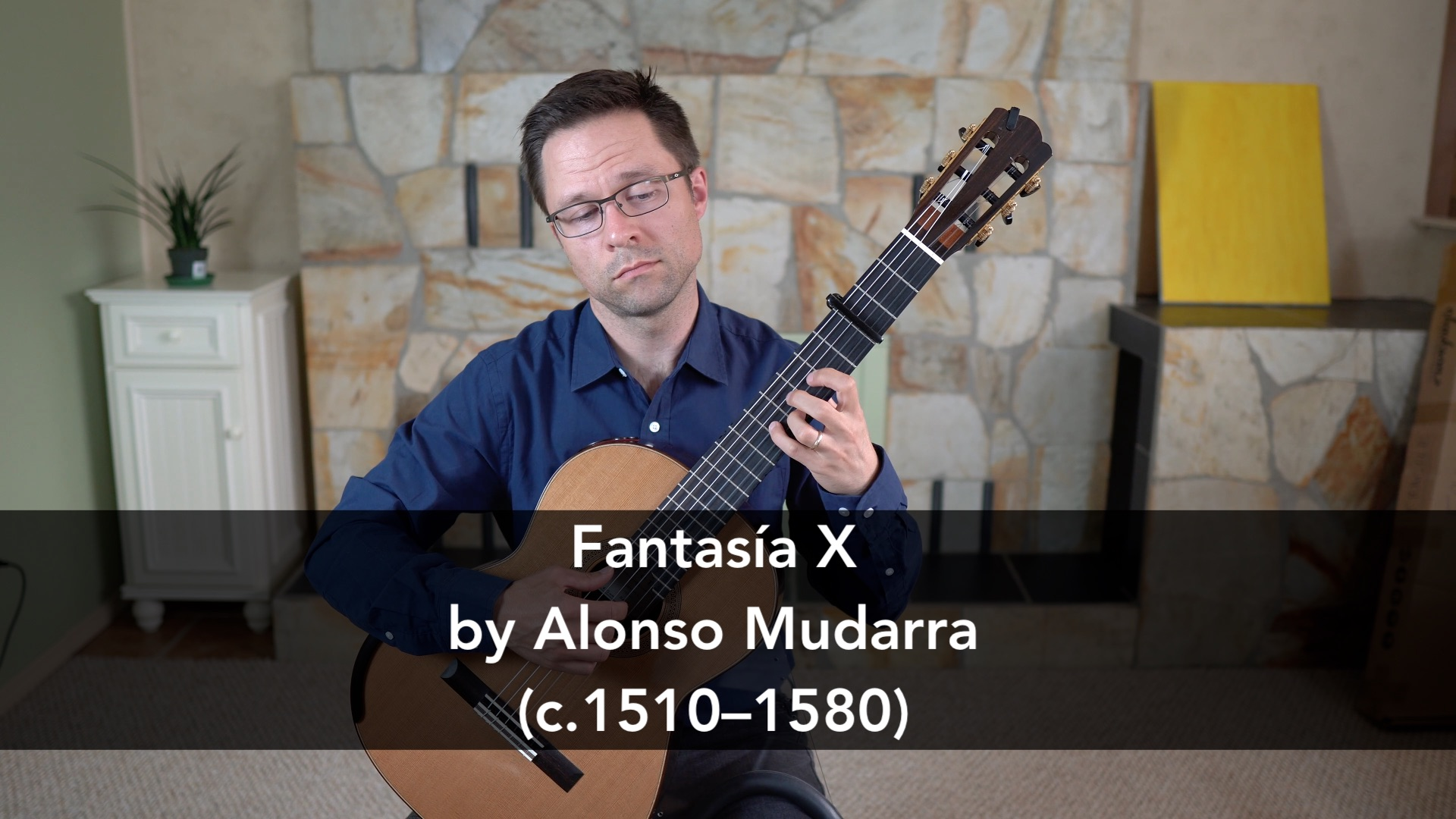 Fantasia X by Mudarra for Guitar - Sheet Music or Tab