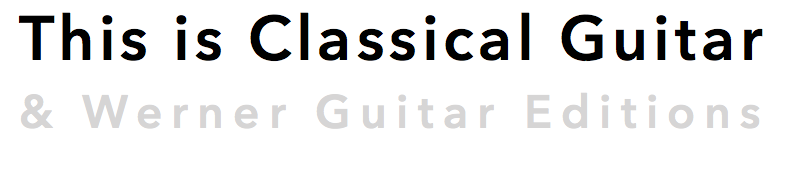 Free Classical Guitar Sheet Music and TAB (PDF) | This is Classical