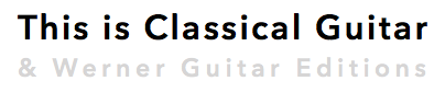 this is classical guitar