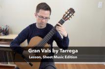 Gran Vals by Francisco Tárrega
