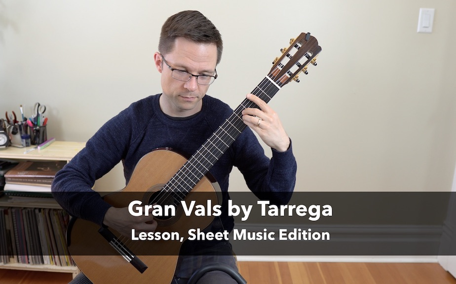 Gran Vals by Francisco Tárrega