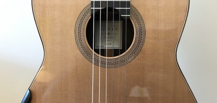 My New 2018 Douglass Scott Classical Guitar