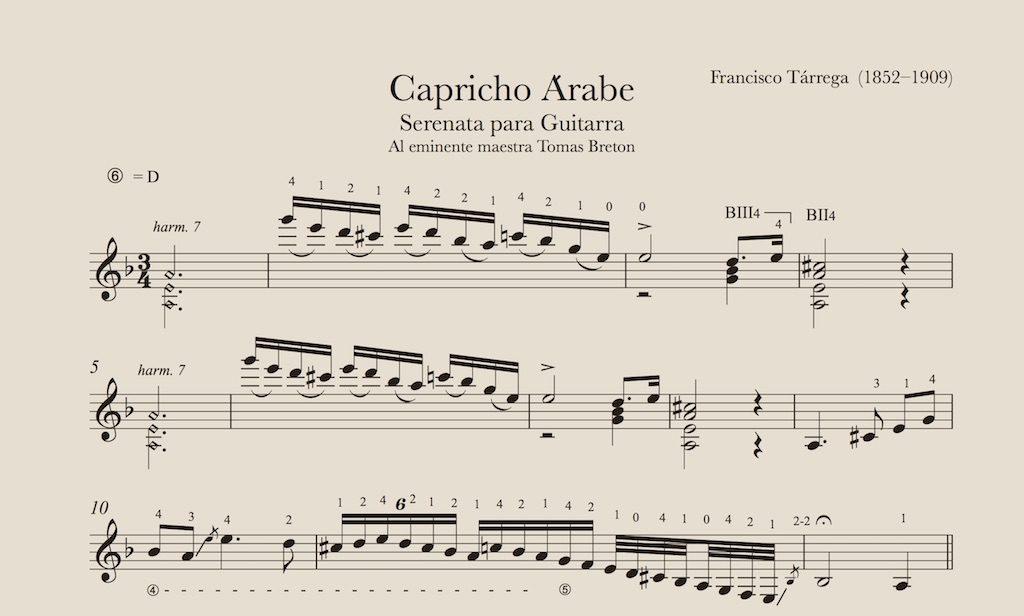 CAPRICHO ARABE TAB PDF