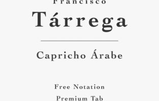 Tarrega - Capricho Arabe - Free Sheet Music or Tab