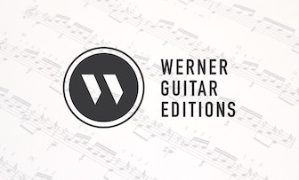 Sheet Music and Tab from Werner Guitar Editions