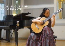 Kanahi Yamashita Plays Prelude BWV 998 by Bach