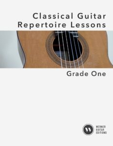 Classical Guitar Repertoire Lessons - Grade 1