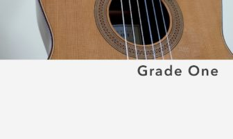 Classical Guitar Repertoire Lessons - Grade 1