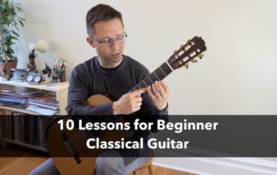 10 Classical Guitar Lessons for Beginners
