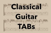 Classical Guitar Tabs (Free PDFs)