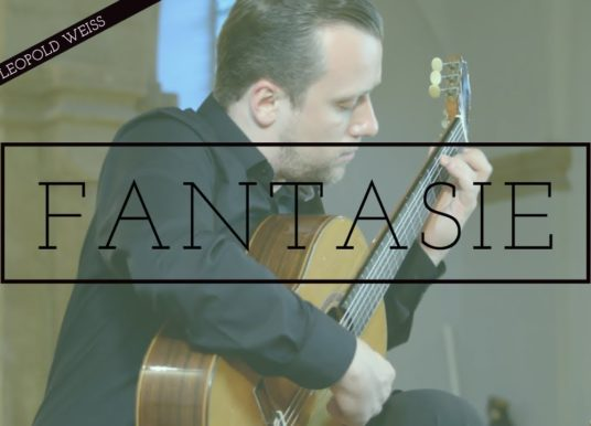 Sanel Redžić plays Fantasie by Weiss