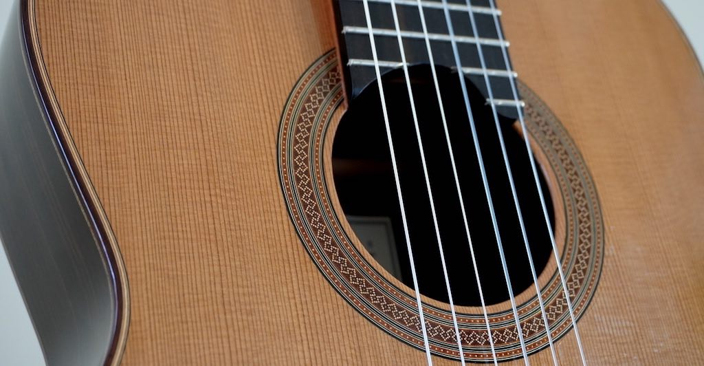 How to String and Tie a Classical Guitar