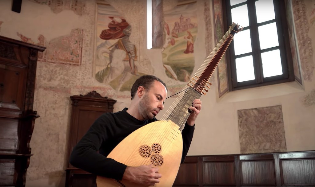 Baroque Sheet Music and Tab for Classical Guitar