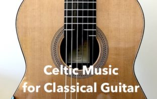 Celtic Sheet Music and Tab for Classical Guitar