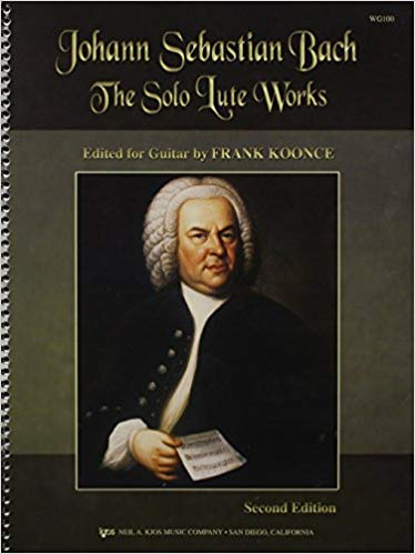 Koonce - Bach Lute Suites for Guitar