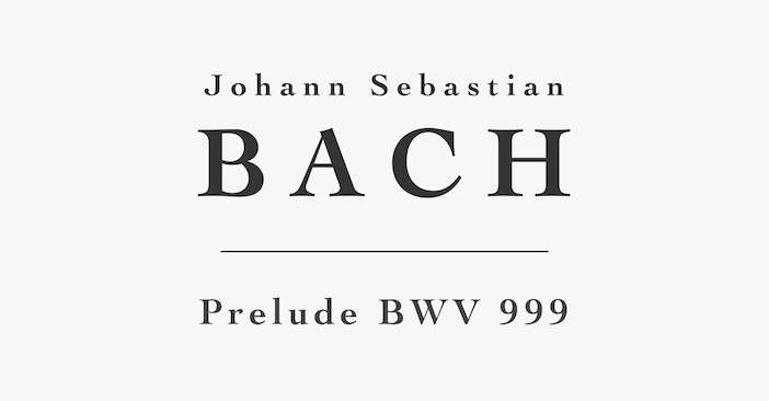 Prelude BWV999 by Bach for Guitar - PDF Sheet Music or Tab