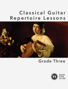 Classical Guitar Repertoire Lessons Grade 3