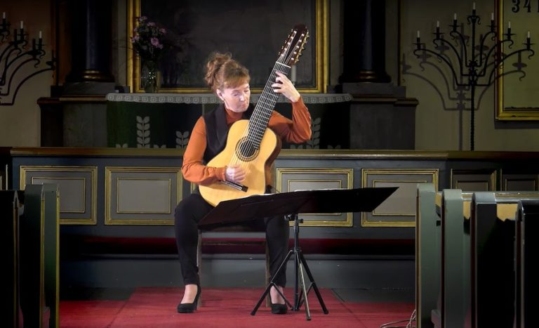 Mari Mäntylä - 10 String Guitar decacorde