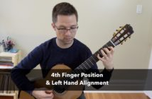 Lesson: 4th Finger Position and Left Hand Alignment