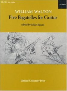 Five Bagatelles for Guitar - William Walton