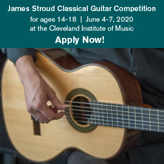 JAMES STROUD CLASSICAL GUITAR COMPETITION