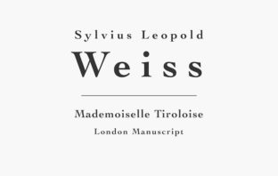 Mademoiselle Tiroloise (SW28) by Weiss for Guitar (Sheet Music, Tab)