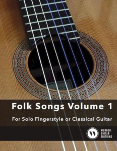 Easy Folk Songs for Classical Guitar