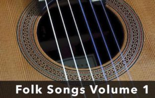 Easy Folk Songs for Classical Guitar