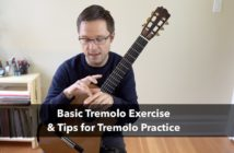 Tremolo Lesson and Exercise for Classical Guitar