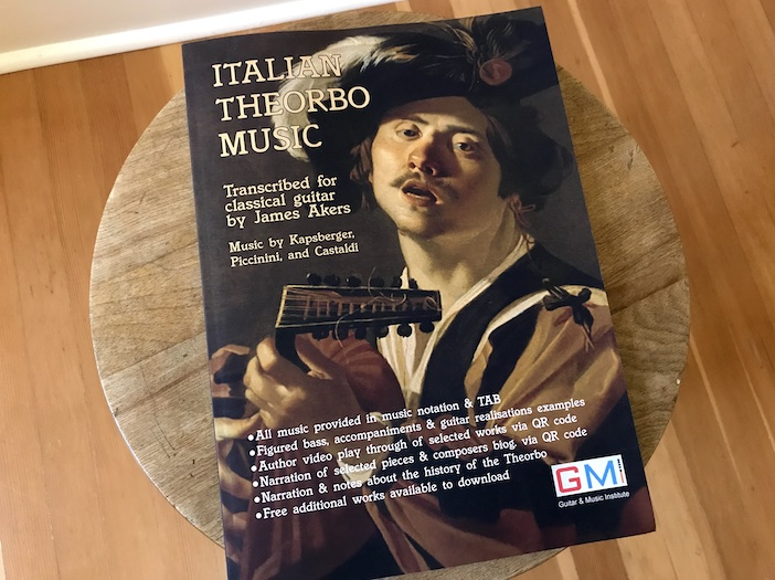 Italian Theorbo Music by James Akers