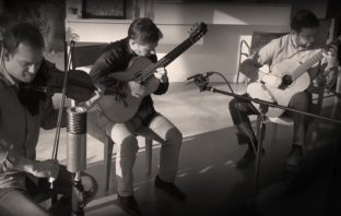 Amazing! Trio Tangere play Fuga y misterioso by Astor Piazzolla.