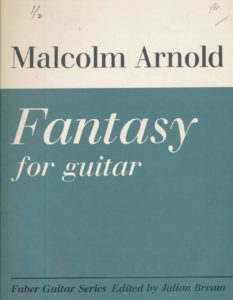Fantasy for Guitar, Op.107 by Malcolm Arnold