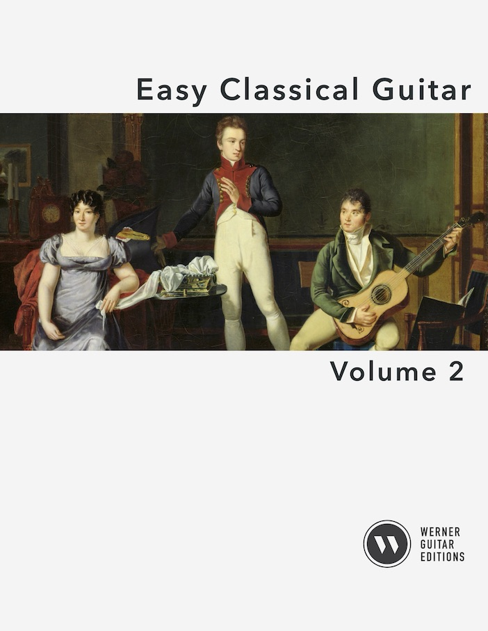 Easy Classical Guitar Volume 2 -Cover