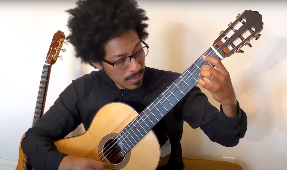 Joao Luiz Plays Choro No.1 by Villa-Lobos